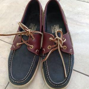 Sebago Docksides Womens size 10 boat shoes